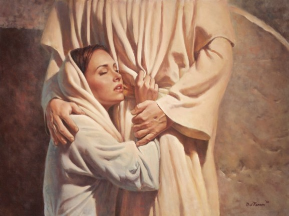 Image result for mary magdala touching jesus resurrection